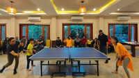 Aamir Khan - Kiran Rao enjoy a fun table tennis match in Ladakh amid 'Laal Singh Chaddha' shoot
