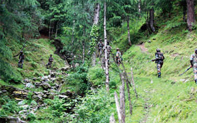 BAT attack foiled, 2 terrorists killed in Kashmir: Army