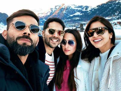 Varun Dhawan, Natasha Dalal, Anushka Sharma, Virat Kohli, Kareena Kapoor, Saif Ali Khan: Stars who holiday together