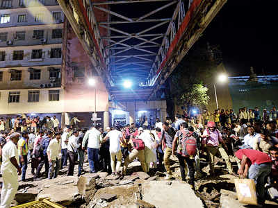 Mumbai CSMT bridge collapse: Rush-hour crash kills 6