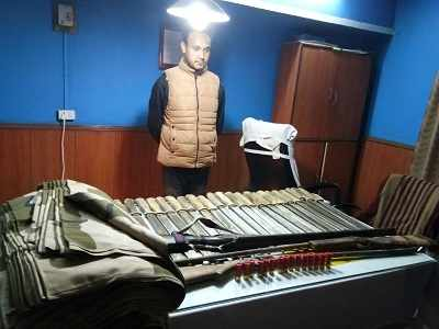 Darjeeling cops recover huge cache of arms on eve of Mamata Banerjee's visit