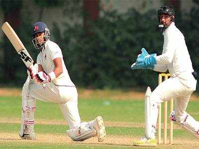 Ranji Trophy: Aditya Tare's ton gives Mumbai three points in dull draw