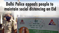 Delhi Police appeals people to maintain social distancing on Eid
