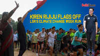 Kiren Rijiju flags off LSR's Climate Change Week run