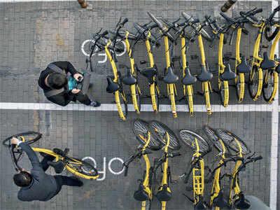 The road to bike sharing