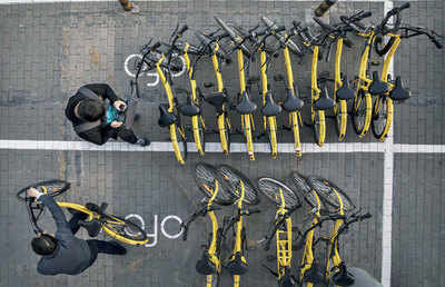 The road to bike sharing