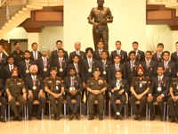 General Bipin Rawat felicitates Asian Games 2018 medal winners from Army