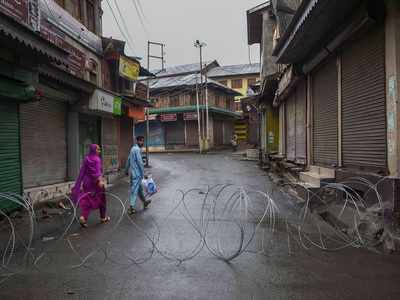 Jammu and Kashmir Chief Secretary: Curbs to be lifted, telephone lines to be gradually resumed from tonight