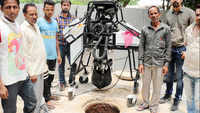 This sewer-cleaning robot is saving lives in Gurugram