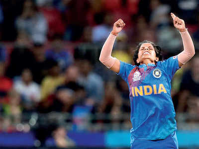 The long  short of it: Diminutive Poonam Yadav's googlies give India win over champs Australia in T20 World Cup opener