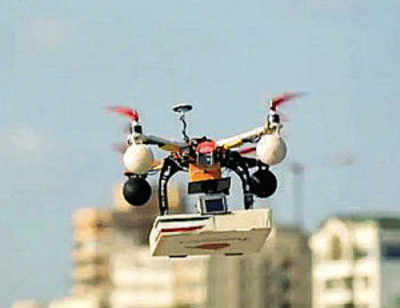 Police ban Drones from city skies