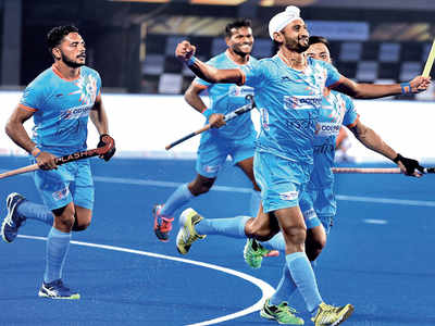 India thrive with five