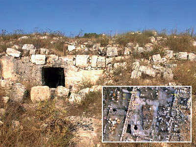Tunnels 'where Jesus turned water into wine' found