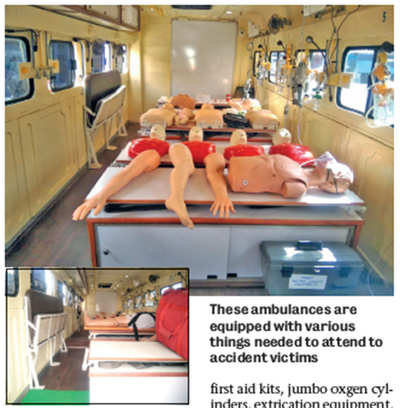 KSRTC rolls out first golden-hour ambulance