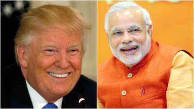 US President Donald Trump calls Indian Prime Minister Narendra Modi to congratulate him on electoral success