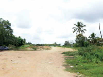 Roads at Kanakapura under construction for over two years; COVID-19 brings project to a grinding halt