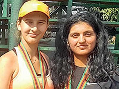 Doubles win for Vipasha-Vasilisa