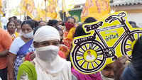Vishakhapatnam: TDP leaders campaign for GVMC elections
