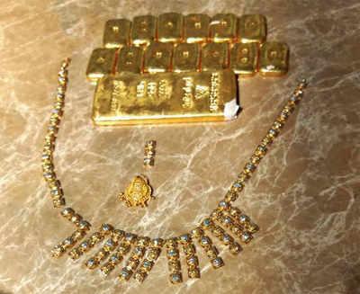 Gold racket busted at KIA