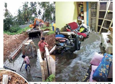 JP Nagar residents hit by flood waters