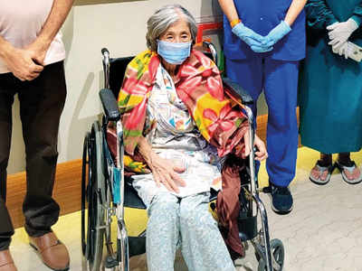 90-year-old  Japanese woman is oldest foreigner in India to beat Covid-19
