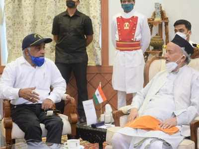 'I am with BJP-RSS': Attacked by Sena workers, ex-navy man meets Governor, demands Uddhav Thackeray-led govt be dismissed