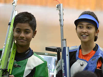 10-year-old Abhinav Shaw wins gold with Mehuli Ghosh, becomes youngest KIYG champion