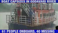 Boat capsizes in Godavari river in Andhra's Devipatnam, search and rescue operations underway