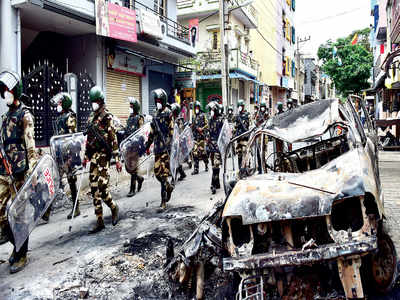 Bengaluru violence: Locals say innocents being targeted