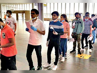 480 Maha students take charter flight out of Russia to Mumbai