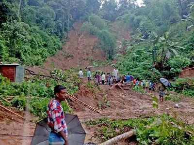 20 people, including three children killed in Assam landslides, several injured