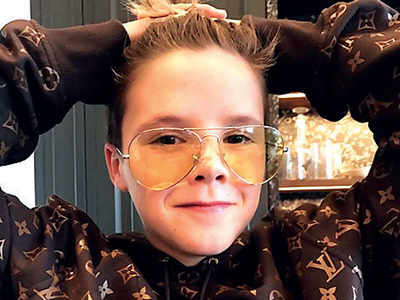 Cruz Beckham raises eyebrows by selling an old hoodie