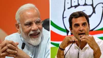 BJP takes early lead at 9am; Rahul Gandhi trailing in Amethi, Pragya Singh Thakur leads in Bhopal