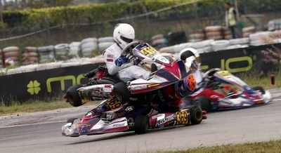 Mumbai racer escapes kart crash in Malaysia
