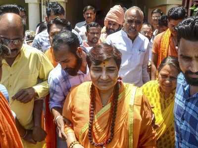 Proud of Babri Masjid demolition, will build a grand Lord Ram temple: BJP Bhopal candidate Sadhvi Pragya Thakur