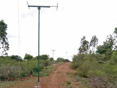 IISc's vertical fence idea is keeping jumbos away