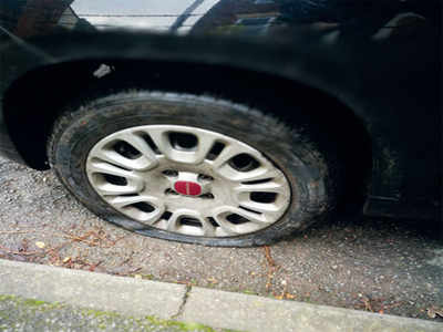 Man loses Rs 6 lakh over a flat tyre