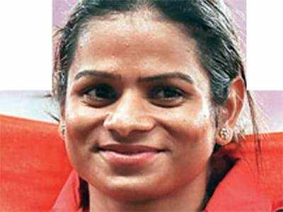 Chand smashes her 100m national record while Hima suffers injury