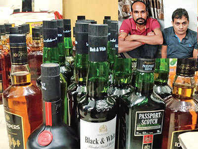 Two persons held in Vadaj for selling cheap liquor packed in IMFL bottles