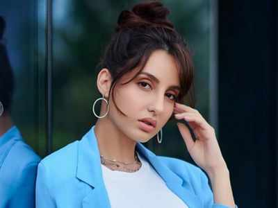 It's a working birthday for Nora Fatehi