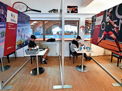Tennis readies for new normal