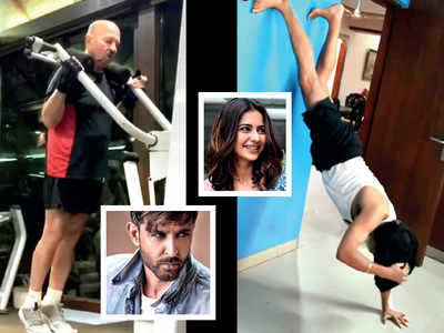 Hrithik Roshan, Rakul Preet Singh gush over their fitness-conscious dads while Dharmendra stays healthy by farming