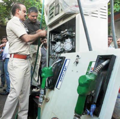 7 petrol pumps sealed for tampered meters