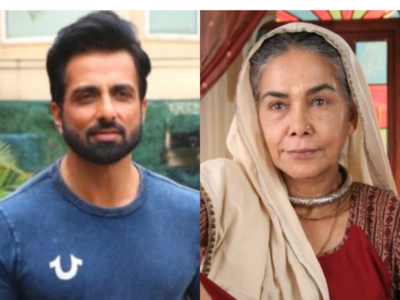 Sonu Sood comes to the aid of Surekha Sikri after she suffers brain stroke