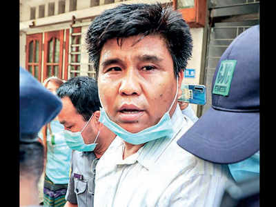 Journalist in Myanmar hit with terrorism charges