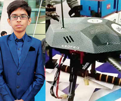 Teen signs Rs 5-cr MoU for drones