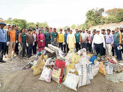 NGO gives Gaadhi river a new look