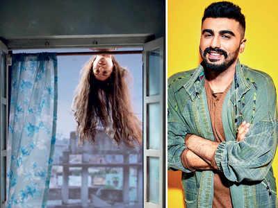 Anushka Sharma's hair scares Arjun Kapoor