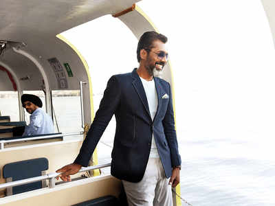 Spotted: Nagraj Manjule enjoys the beauty of Arabian Sea