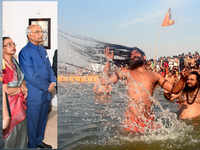 President Ram Nath Kovind will be in Allahabad today for Kumbh Mela